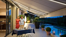 Motorised Awnings - Retractable Outdoor Awnings - Somfy