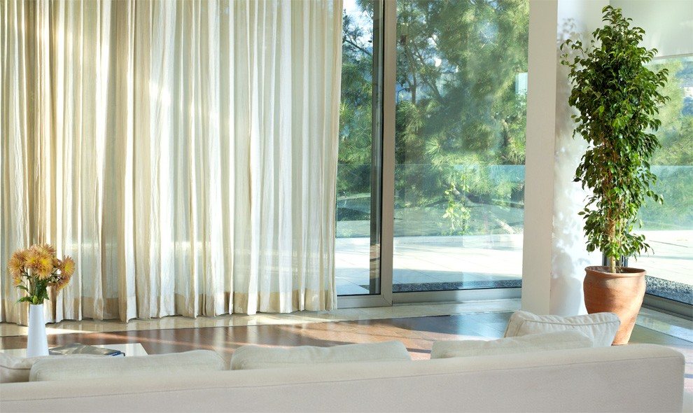 Motorised Curtains Remote Control Curtains Somfy